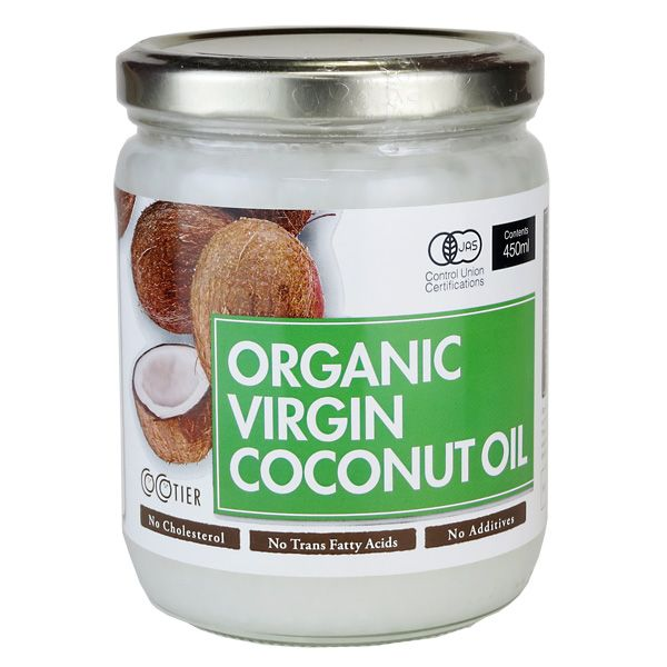 I like to cook with coconut oil as well as make sweets with it. You'll always find a jar of coconut oil in my kitchen.