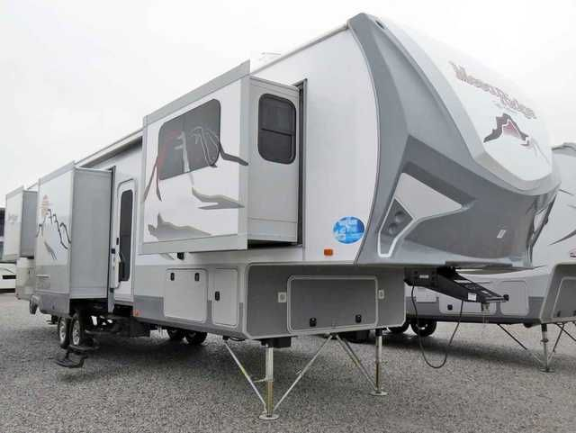 2016 New Highland Ridge Rv MESA RIDGE 376FBH Fifth Wheel in Alabama AL.Recreational Vehicle, rv, Unique floor plan with front living room with its own TV, refrigerator, and two sleeper sofas. Close the door for privacy. Rear queen bedroom with separate bath. incredible amount of storage space outside. Great trailer for taking friends along on your trips. Call Marlin for his special sale price.