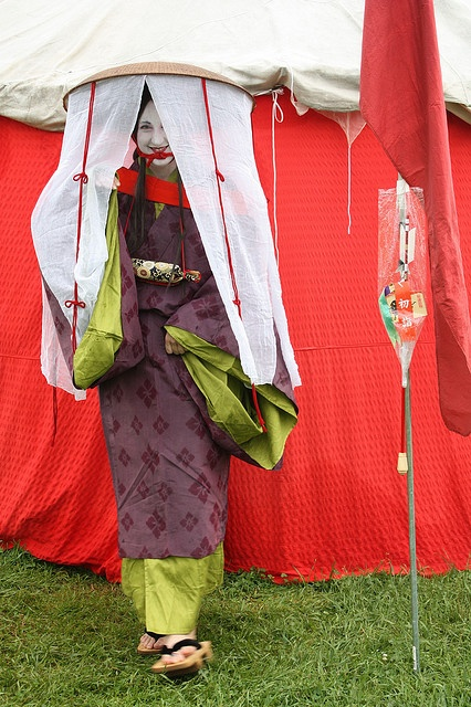 Azuchi Momoyama Travelling costume   I'd love to do this sometime.