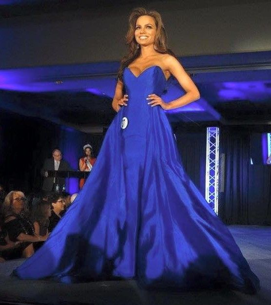 Miss Connecticut USA 2016 Evening Gown: HIT or MISS | Tiffany Teixeira took the Miss Connecticut USA stage by storm in a simple yet dynamite evening gown that ultimately won her the crown.  Read more: http://thepageantplanet.com/miss-connecticut-usa-2016-evening-gown/#ixzz3sSCyUUqD