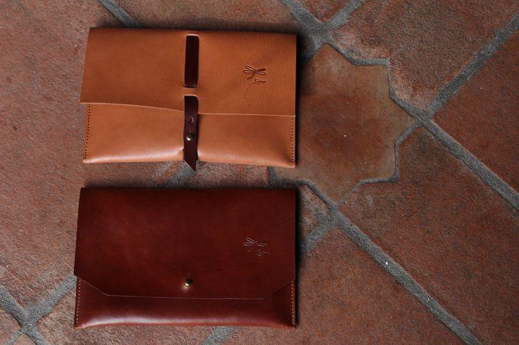 Handmade Leather Clutch.The best leather and Ludena design. Handbag, Minimalist , Handmade, Women, Gif