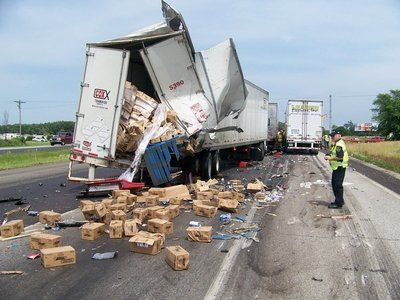 Image result for What To Do After Having An Accident In Your Semi Truck