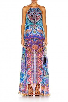 ALICE IN ESSAOUIRA SHEER OVERLAY DRESS $559