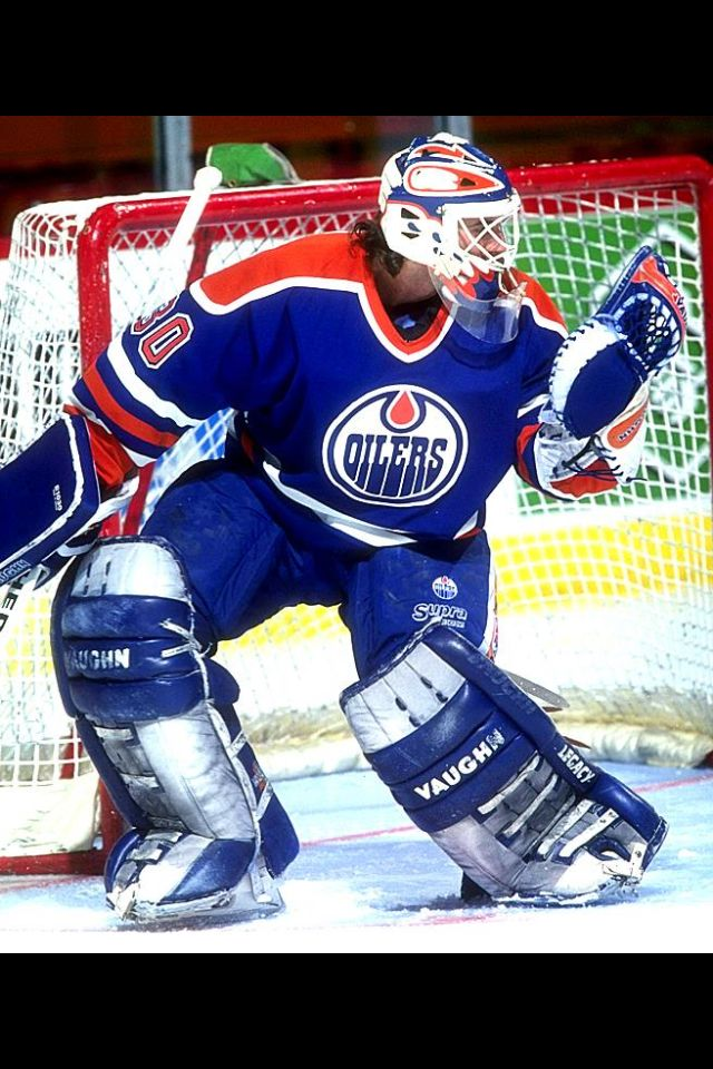 Bill Ranford stopped 56 shots during a 1993 game against New York Rangers.