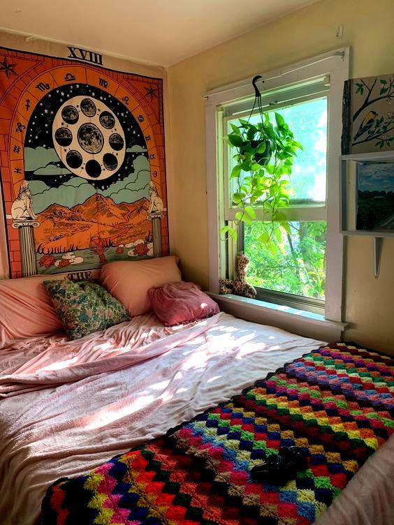 My attic bedroom in a Victorian Era House, Iowa City, Iowa ...