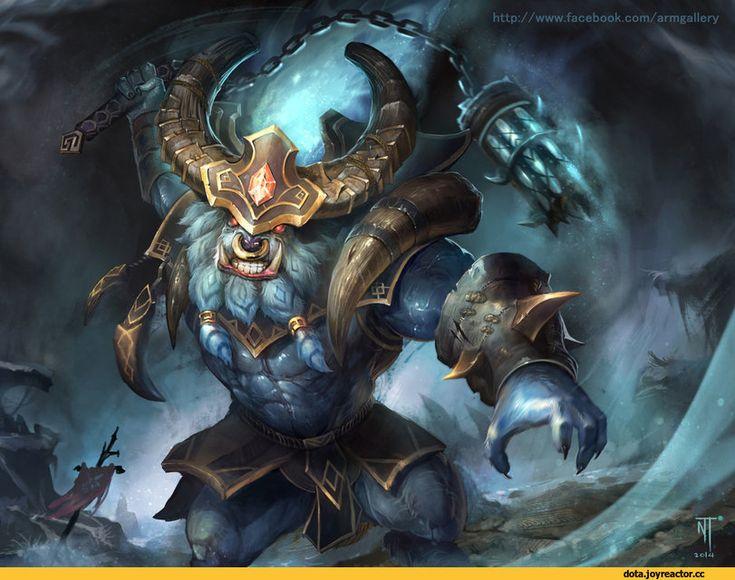 Dota 2,фэндомы,Dota Art,Barathrum the Spirit Breaker,Grav3soul #Dota2