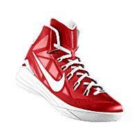 I designed the university red Nike Hyperdunk 2014 iD men\u0027s basketball shoe  with white trim.