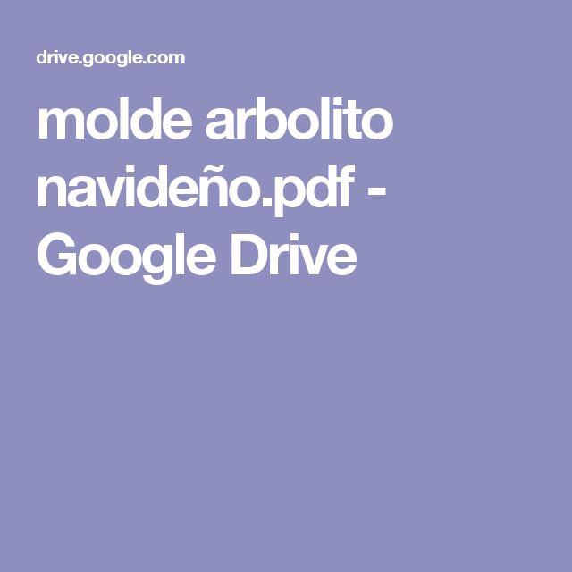 molde arbolito navideño.pdf - Google Drive