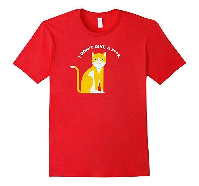 Amazon.com: Cats Don't Cares Pet Lover T-Shirt: Clothing