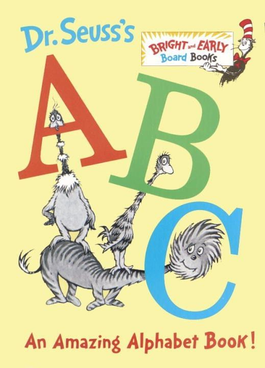 ABC Amazing Alphabet Book by Dr. Seuss. First read to Emily, July 2016.