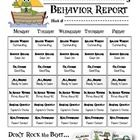 This is the weekly behavior report for parents that goes with my nautical inspired pirate frog clipchart. I included 2 versions in the zip file (la...