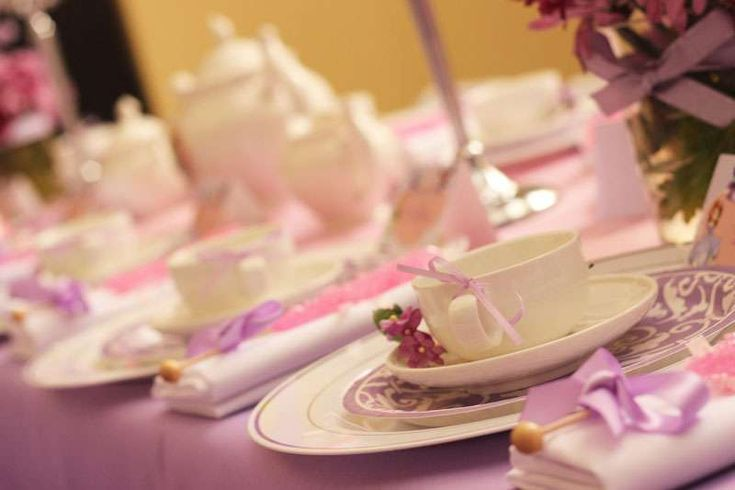 Sofia the First Royal Tea Party | CatchMyParty.com