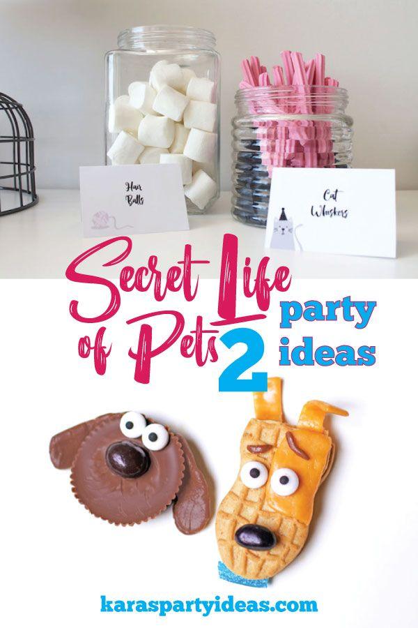 Secret Life Of Pets 2 Party Ideas Kara S Party Ideas Secret Life Of Pets Boy Birthday Party Themes Karas Party Ideas