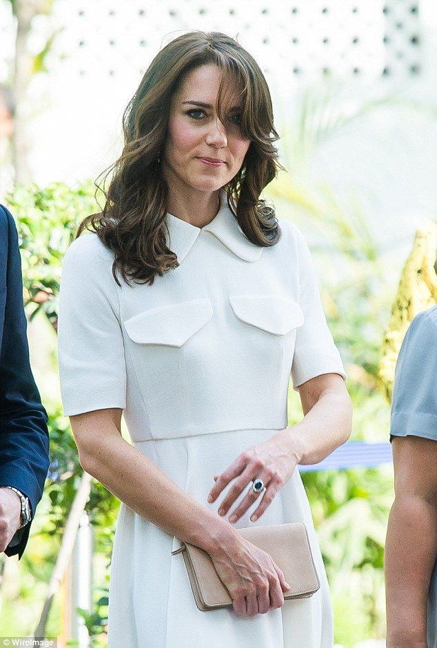 The Duchess of Cambridge visited the Gandhi Smriti, a museum located in Old Birla House, w...