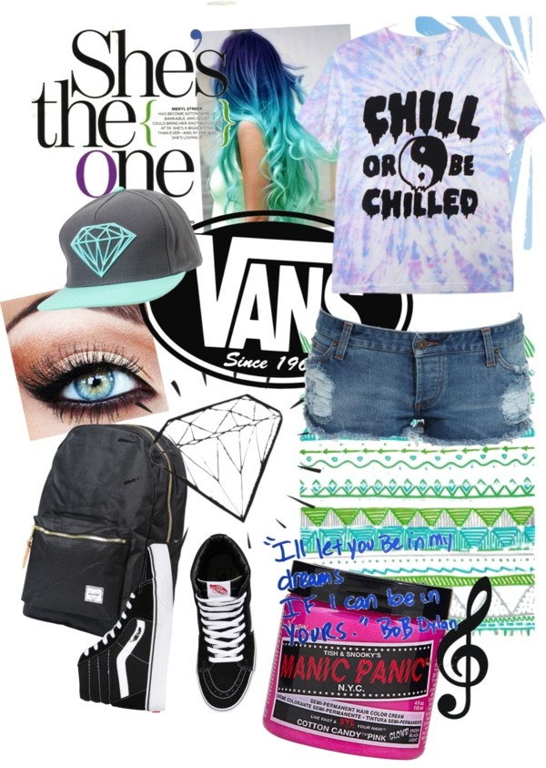 """""""Warped Tour Outfit"""" by kelseypatterson on Polyvore"""