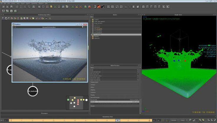 RealFlow 2013 Create different Effects - Realflow 2013 tutorial