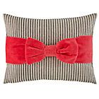 Pink Bow Throw Pillow #NodWishlistSweeps