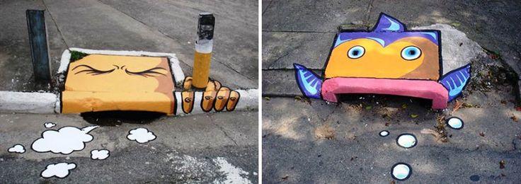 Seni Jalanan Lukisan Mural di Kota São Paulo di Brazil 3