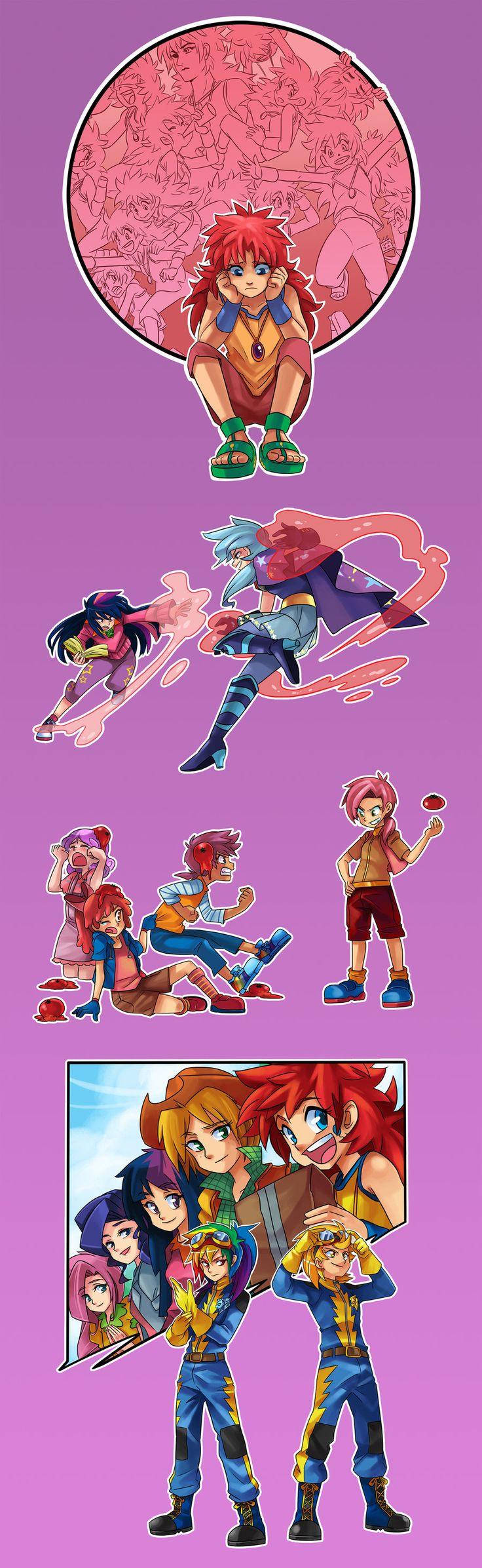 MLP- 3rd Season Episodic Illustrations by ~Sapphire1010 on deviantART