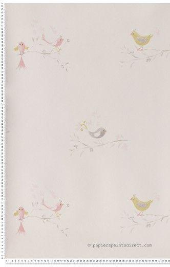 Papier Peint Papier peint Fille chambre d'enfant : papier peint direct, vente decoration murale et tapisserie murale de maison