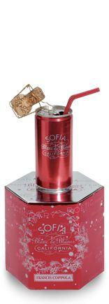 mmmmm- Sofia Mini | Francis Ford Coppola Winery: Mini Champagne, Minis Dog Qu, Gifts Ideas, Minis Wine, Sofia Coppola, Champagne Favors, Minis Champagne, Champagne Style, Coppola Wineries