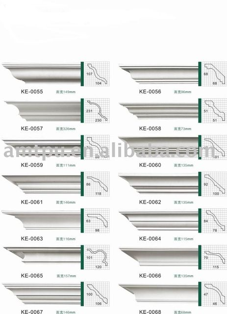 Source PU cornice moulding on m.alibaba.com