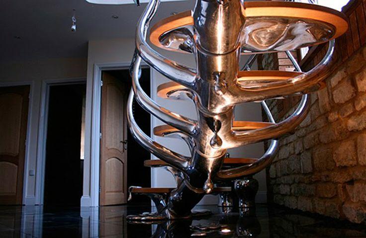 Best Metal Stairs Designed Philip Watts Beautiful Stairs 400 x 300