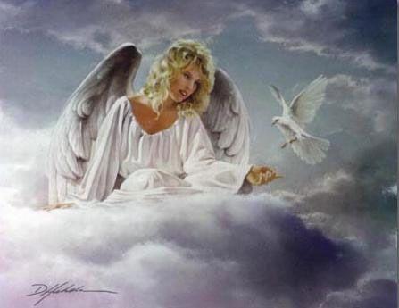 Zopár slov...   Anjeli - gify' obrázky