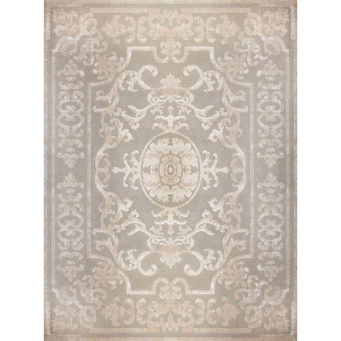 Светло-розовый ковер Pompadour Blanc #carpets #rug #ковер #designer #interior #marqis