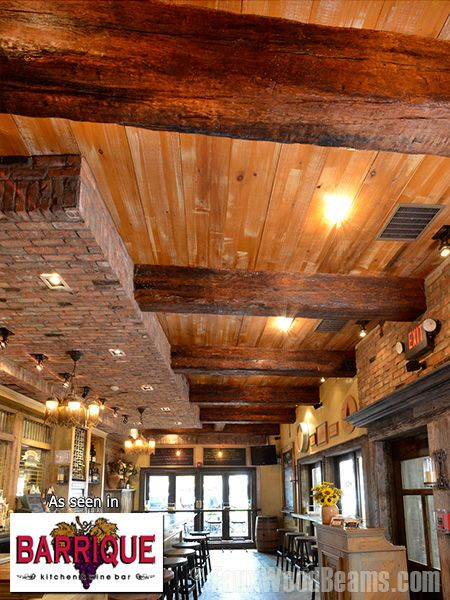 Faux Wood Beams Design Ideas And Photos Fake Wood Beams
