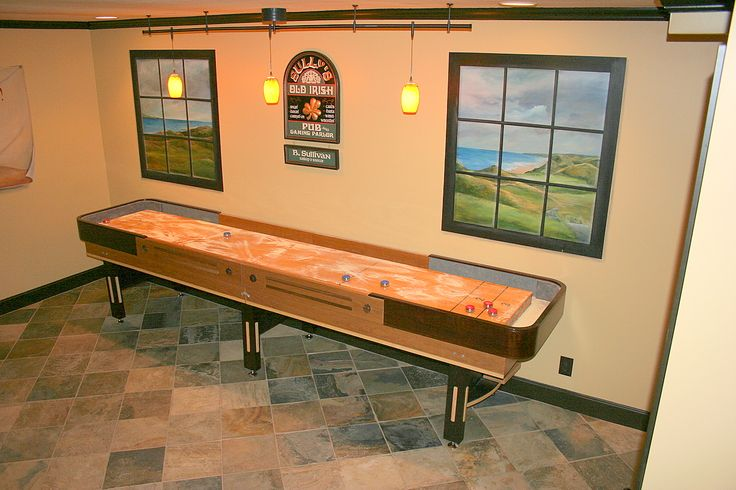game room ideas shuffleboard - google search | shuffleboard