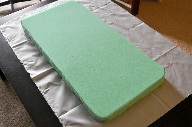 Tutorial: DIY crib / cradle mattress. Dual Perspicacity: Bassinet Mattress Tutorial
