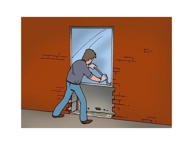 Raam uitbreken en deur van maken - Materiaalkeuze - Livios