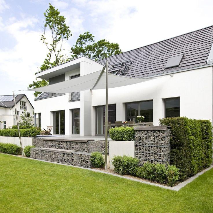 196 best sonnensegel images on pinterest | garden, balcony and house, Gartenarbeit ideen