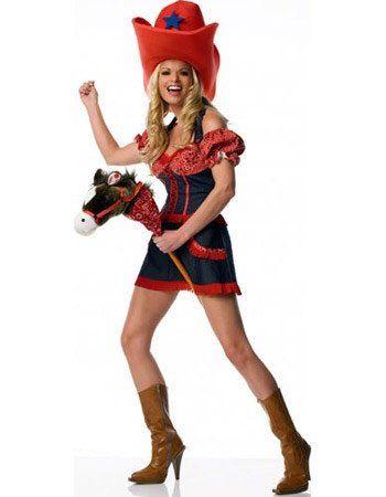 LA83105 Cowgirl Fancy Dress Costume Leg Avenue