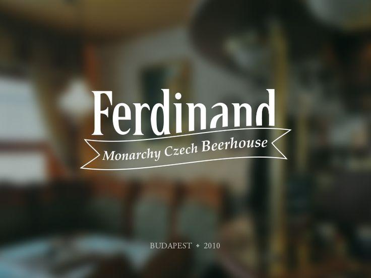 Logo for Ferdinand Monarchy Czech Beerhouse