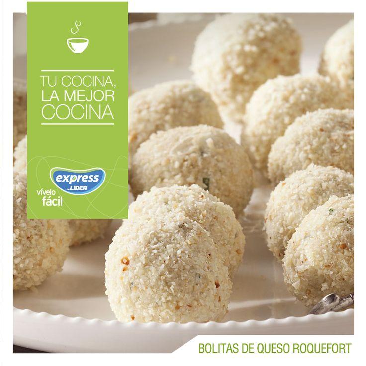 Bolitas de queso roquefort #RecetarioExpress #Receta #Food #Foodporn #Bolitas #Queso #Roquefort