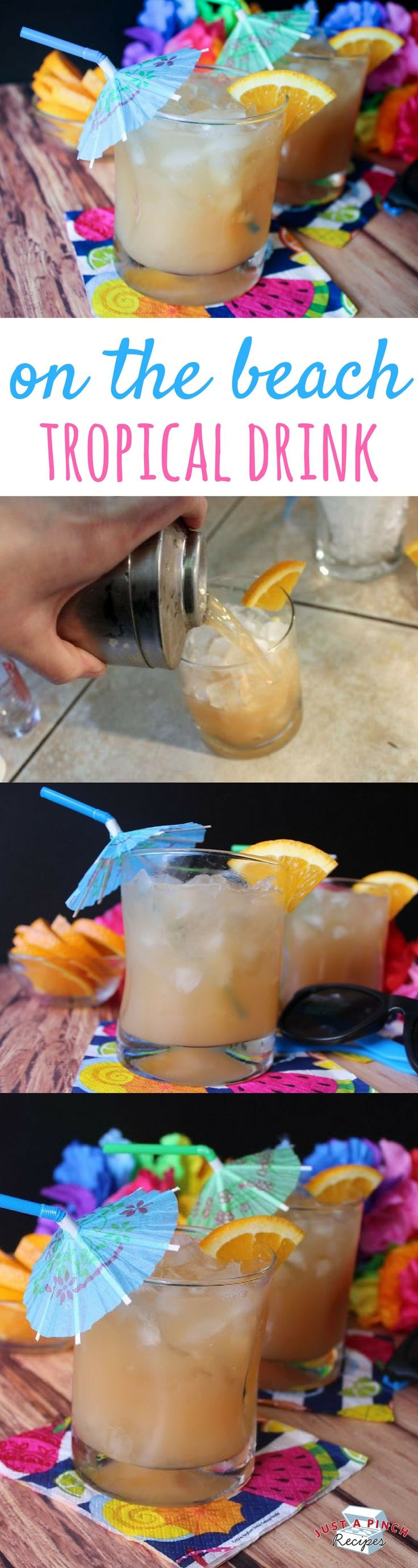 This is a cool and refreshing tropical drink perfect for the summertime. Great for your next pool party or backyard BBQ. An easy summer drink!