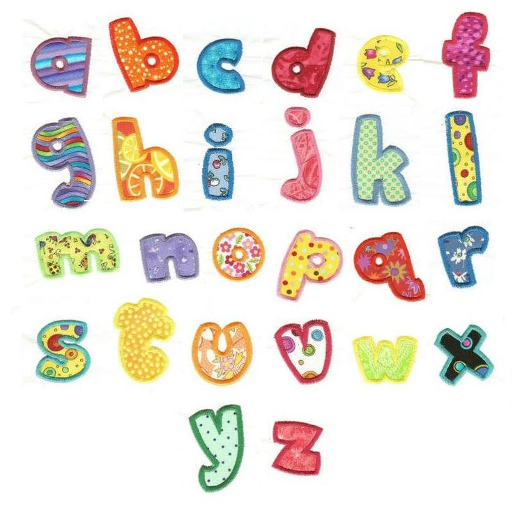 Tutti Frutti Alphabet Applique Machine Embroidery Font | Designs by JuJu