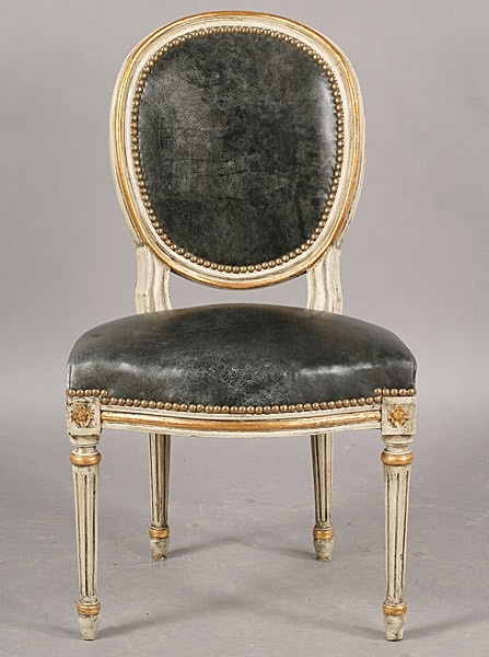 balloon back LOUIS XIV dining chair