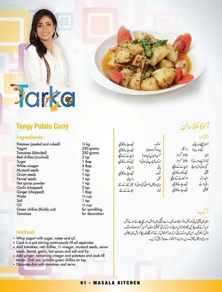 Recipes Food In Urdu
