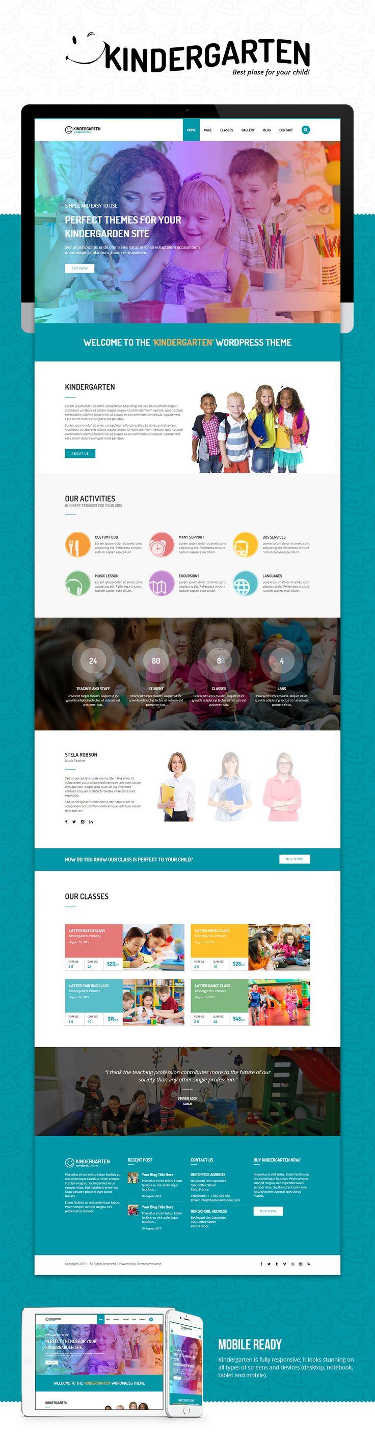 Kindergarten Concept Theme on Behance