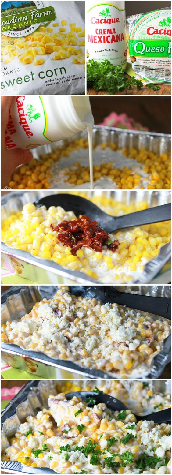 Chipotle Creamed Corn on the Grill