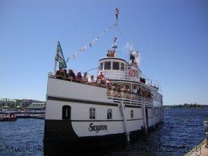 segwun cruise with people