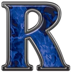 17 Best images about Alphabet ~ Inferno Blue on Pinterest ...