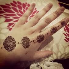 simple and easy arabic mehndi design images