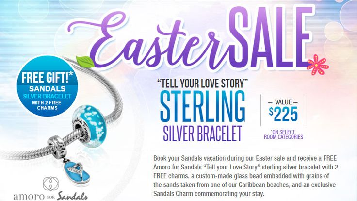 Sandals Easter Sale - https://traveloni.com/vacation-deals/sandals-easter-sale/ #caribbeanvacaiton #mexicovacation #jamaica #stlucia #grenada