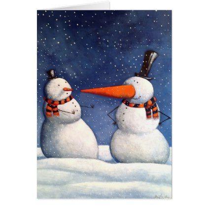 The Big Carrot Card - Xmascards ChristmasEve Christmas Eve Christmas merry xmas family holy kids gifts holidays Santa cards