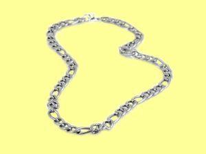 """Edelstahl Halskette """"Italien"""", 56cm"""