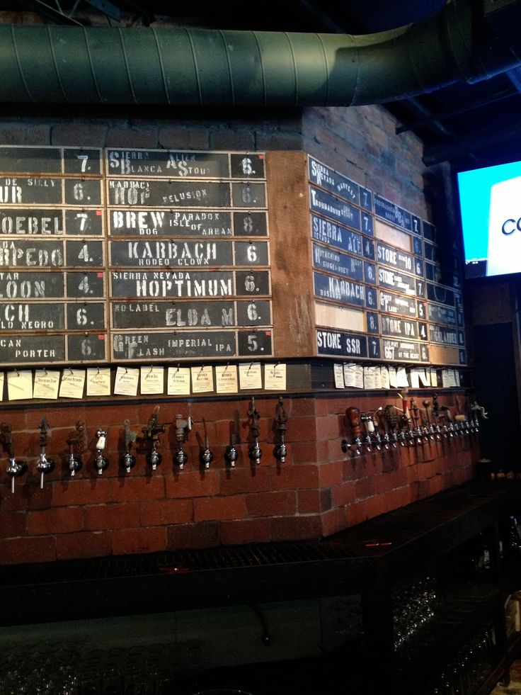 Another side of beer taps at Hay Merchant